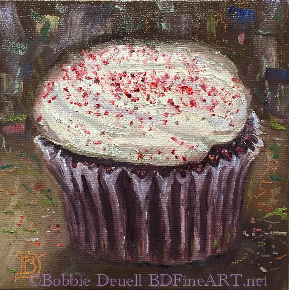 """#55 Red Velvet Zinger"" original fine art by Bobbie Deuell"