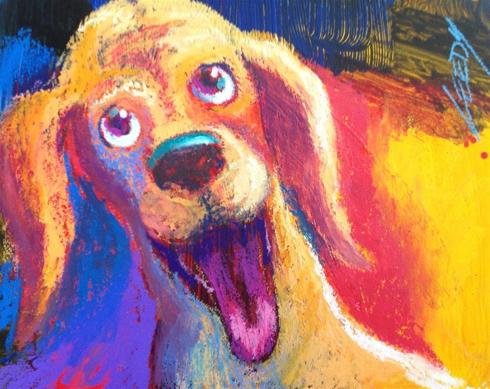 """You're Home!"" original fine art by Jeff Leedy"