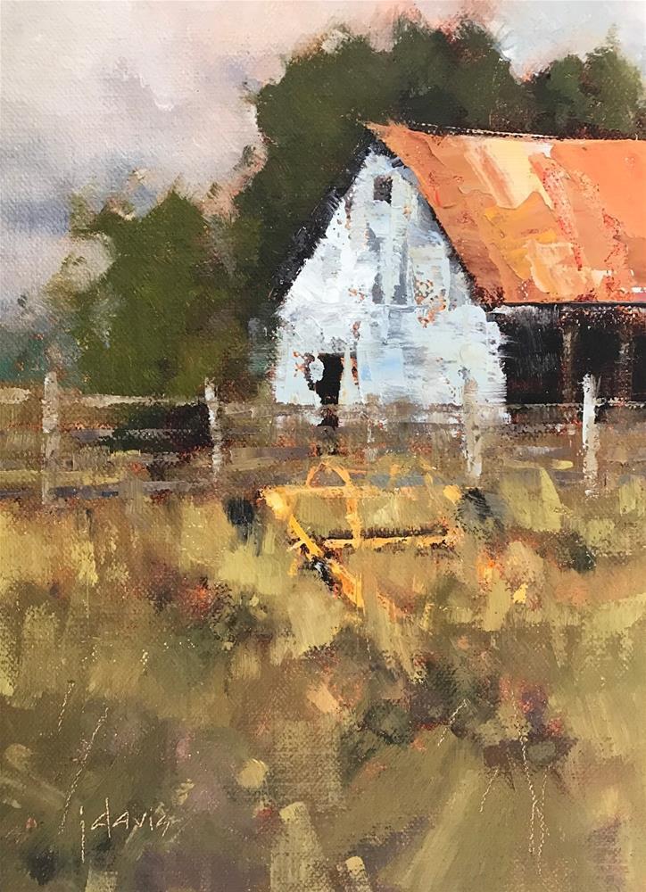 """""""Tall Grass"""" original fine art by Julie Davis"""