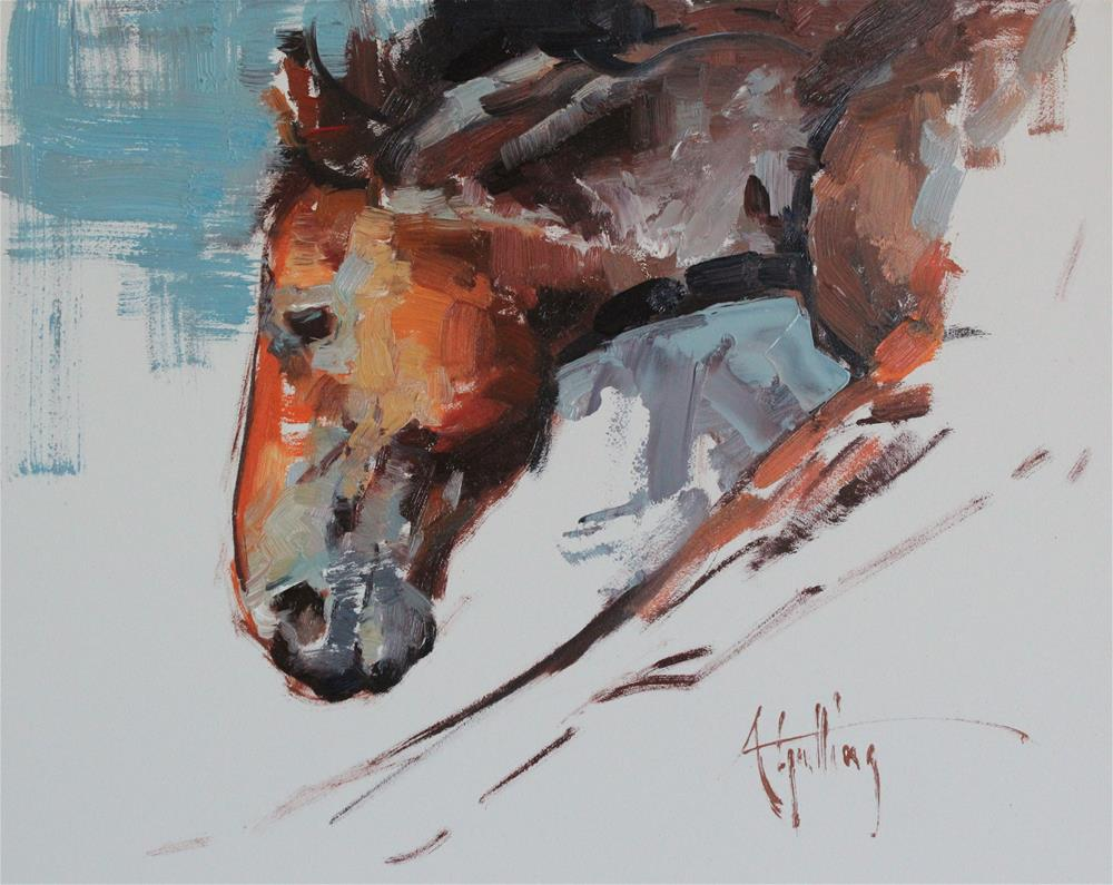 """Sketch #21"" original fine art by Abigail Gutting"