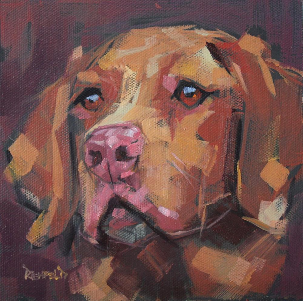 """Phoebe"" original fine art by Cathleen Rehfeld"