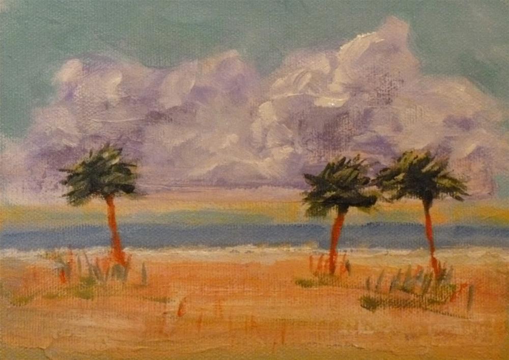 """Dancing on the Beach"" original fine art by Jo-Ann Sanborn"