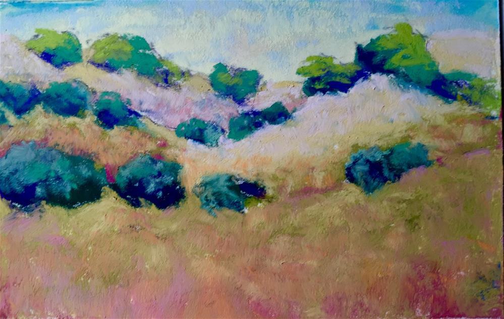 """California Dreaming 1"" original fine art by Sandi Miller"