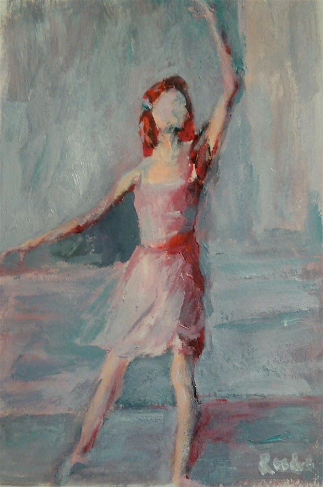 """""""In the Air"""" original fine art by Ann Rudd"""