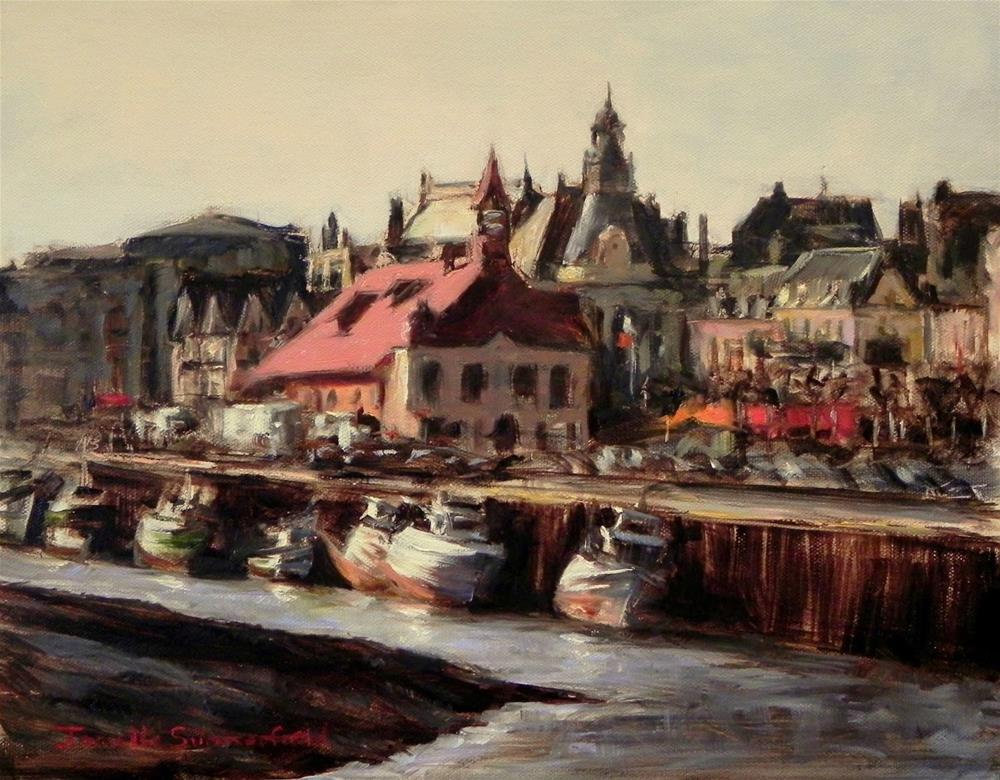 """Trouville, France"" original fine art by Jonelle Summerfield"