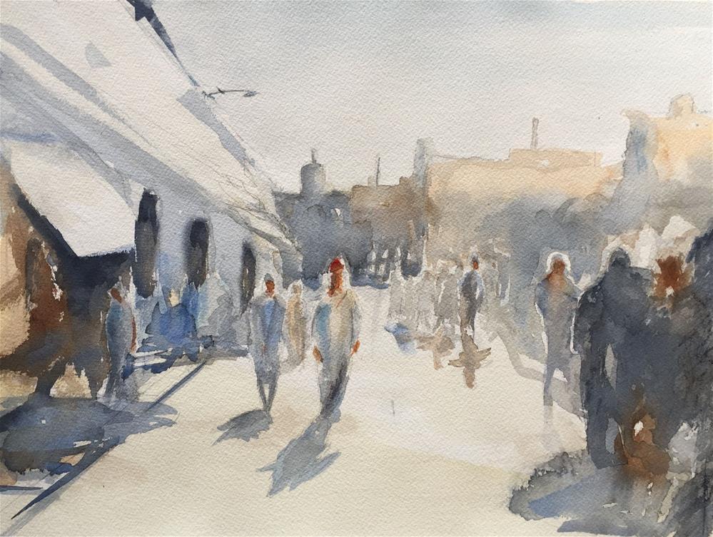 """MARRAKESH"" original fine art by Ferran Llagostera"