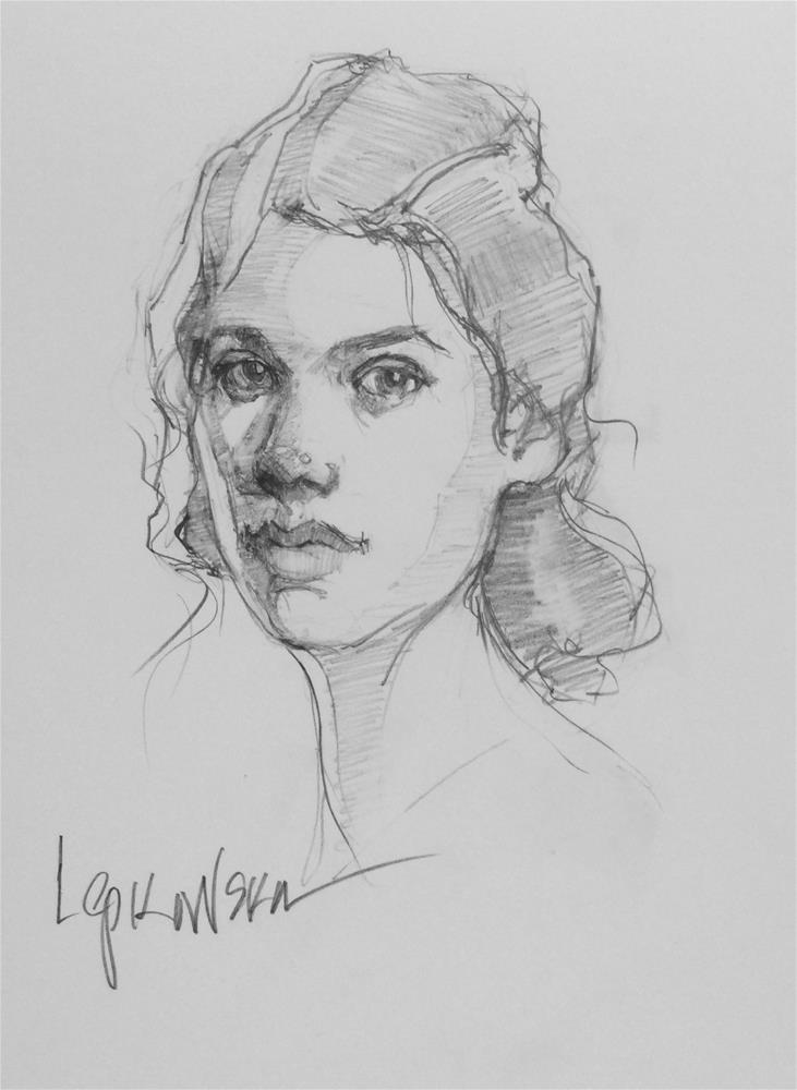 """Classic Beauty"" original fine art by Laurie Johnson Lepkowska"