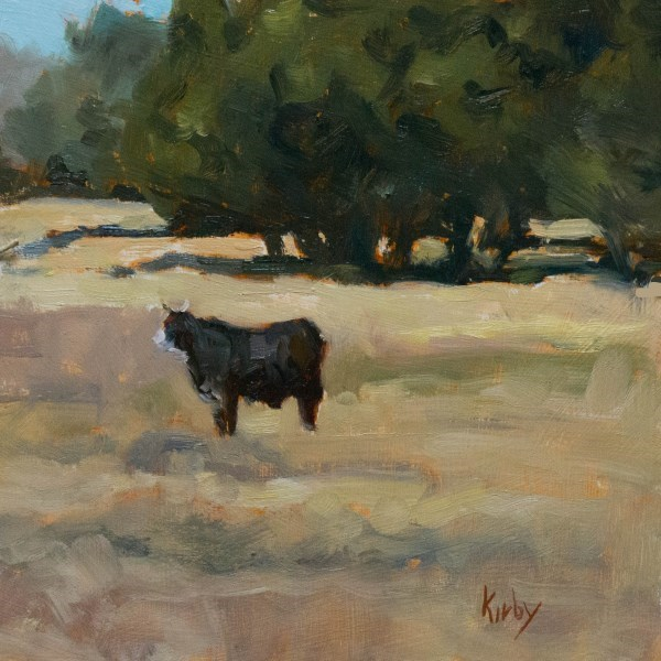 """""""Out West"""" original fine art by Randall Cogburn"""