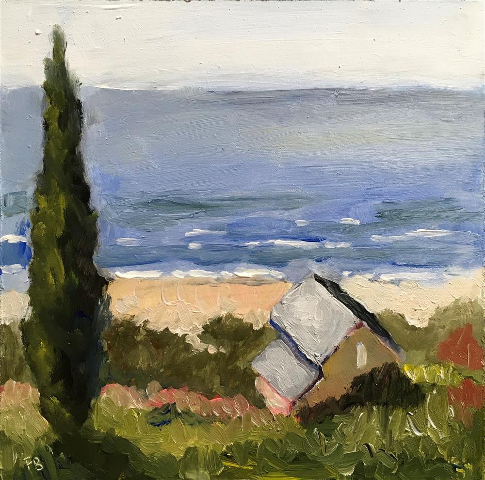 """294 Ocean Grove"" original fine art by Fred Bell"
