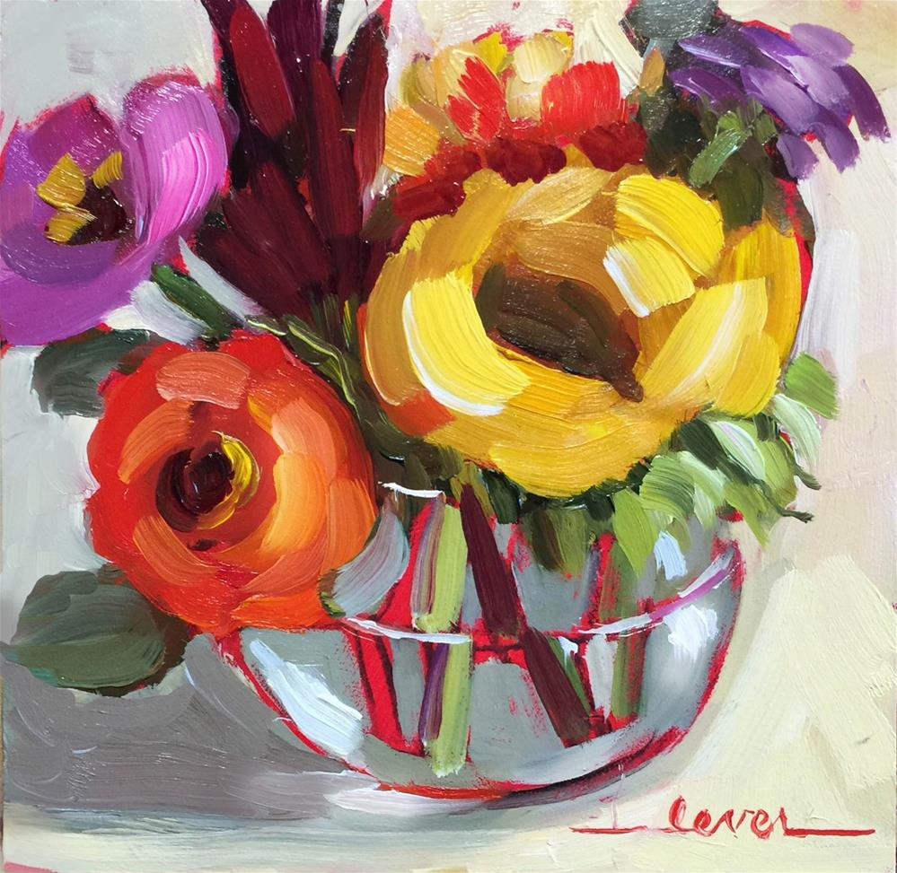 """A Lovely Little Bunch"" original fine art by Martha Lever"