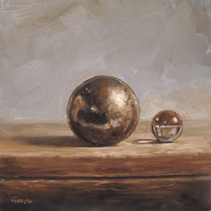 """Chrome and Glass"" original fine art by Michael Naples"