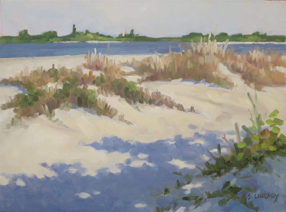 """Sand Dunes"" original fine art by Susan Lindsey"