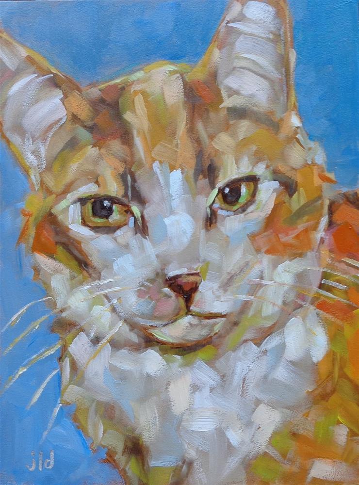 """PIPPIN"" original fine art by Jean Delaney"