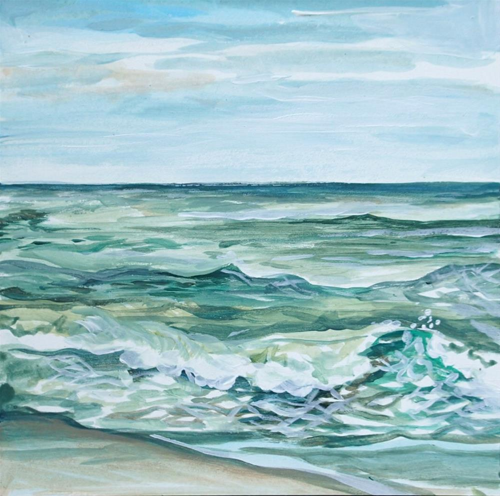 """Maritime Meditation"" original fine art by Lauren Kuhn"