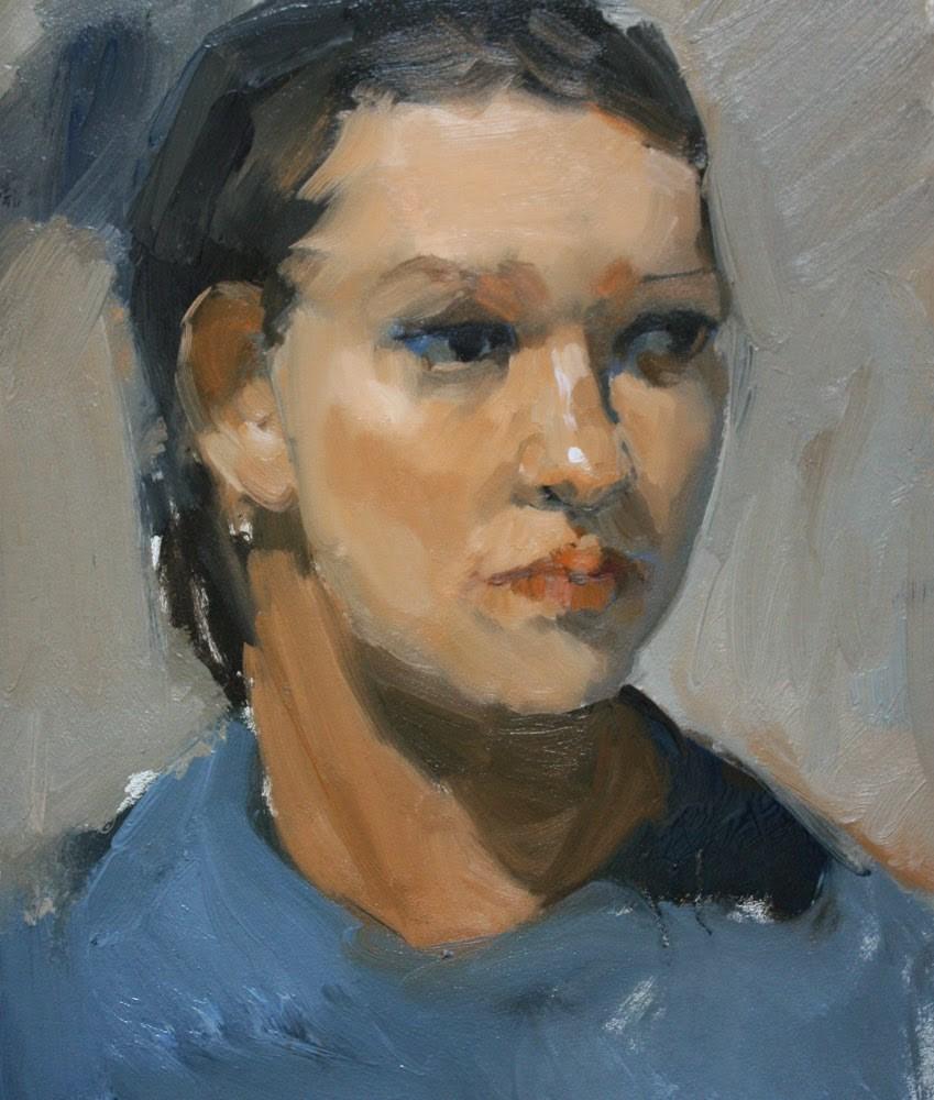 """""""Margaret - NFS"""" original fine art by Kathryn Townsend"""