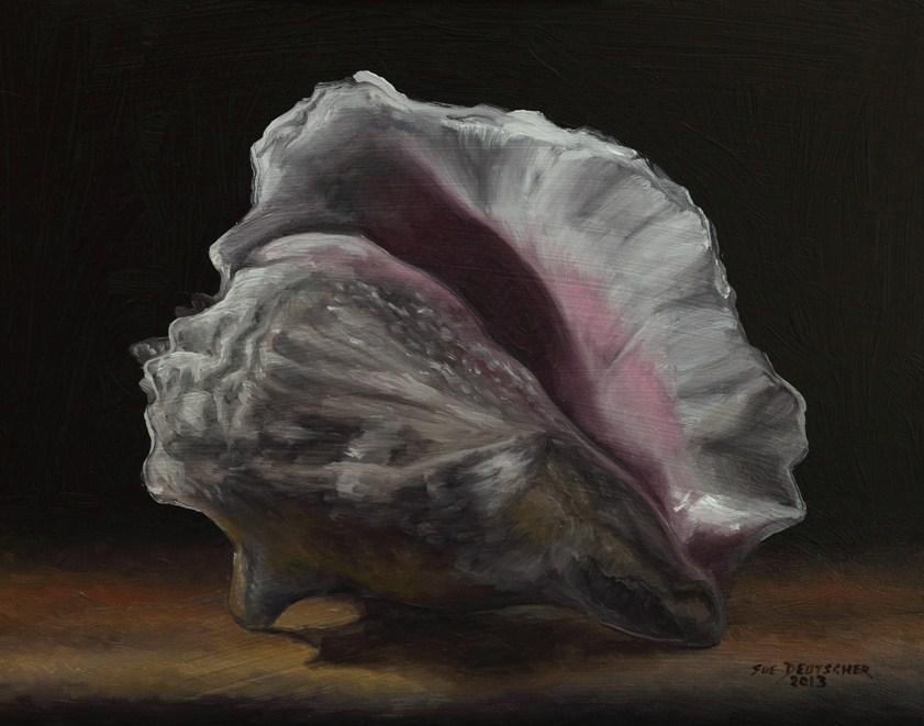 """""""Conch Shell 130207"""" original fine art by Sue Deutscher"""