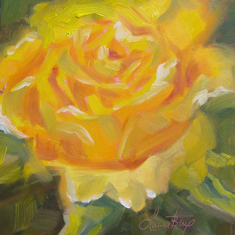 """She Glows! - 336"" original fine art by Laura  Buxo"