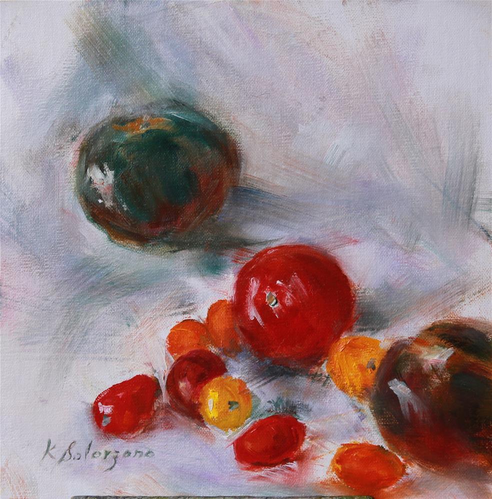 """Rebel Gathering"" original fine art by Karen Solorzano"