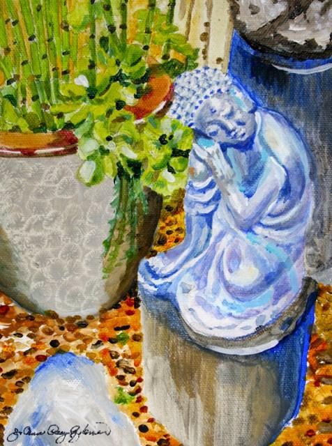 """Naptime"" original fine art by JoAnne Perez Robinson"