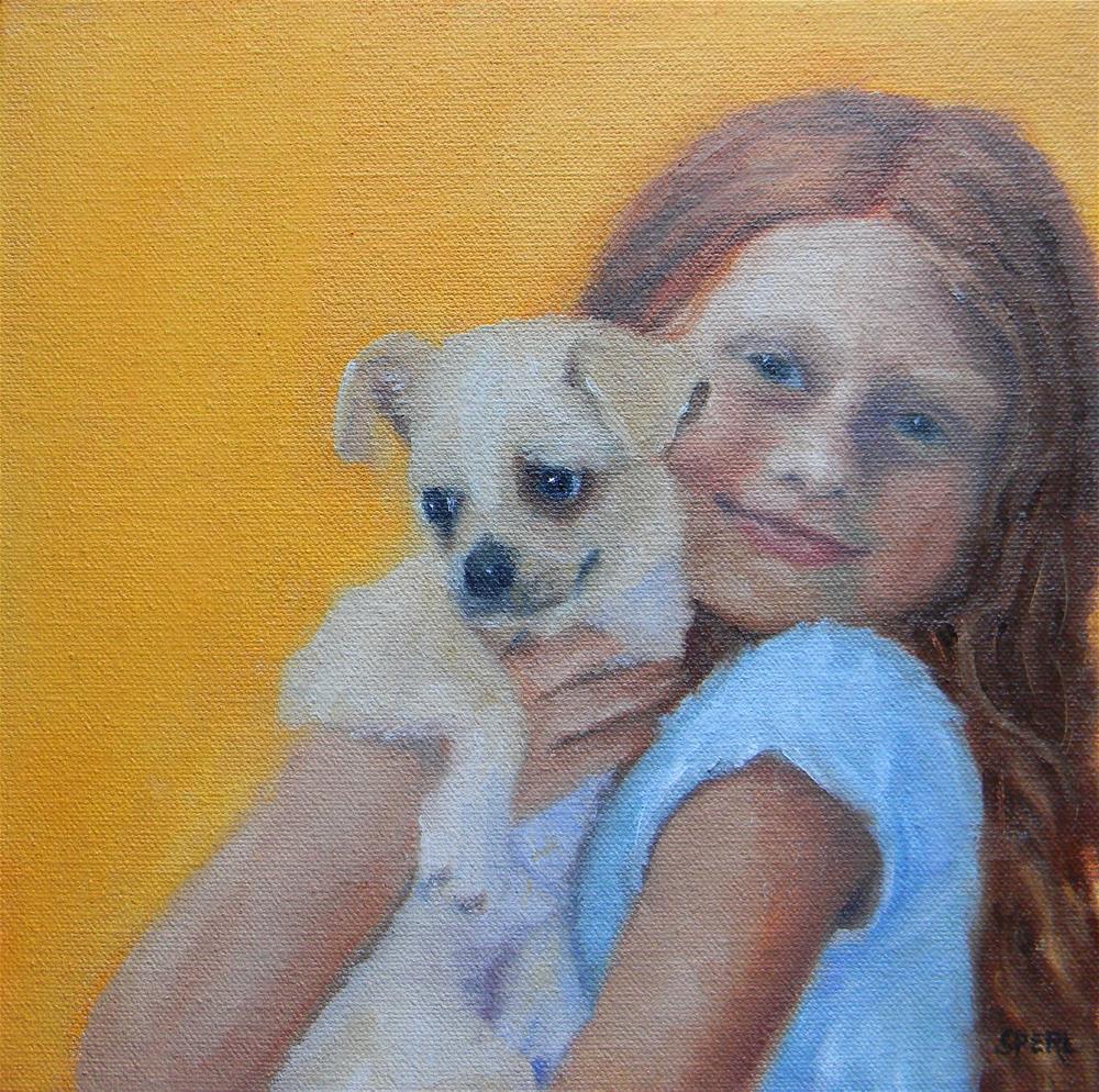 """First Love"" original fine art by Cheri Sperl"