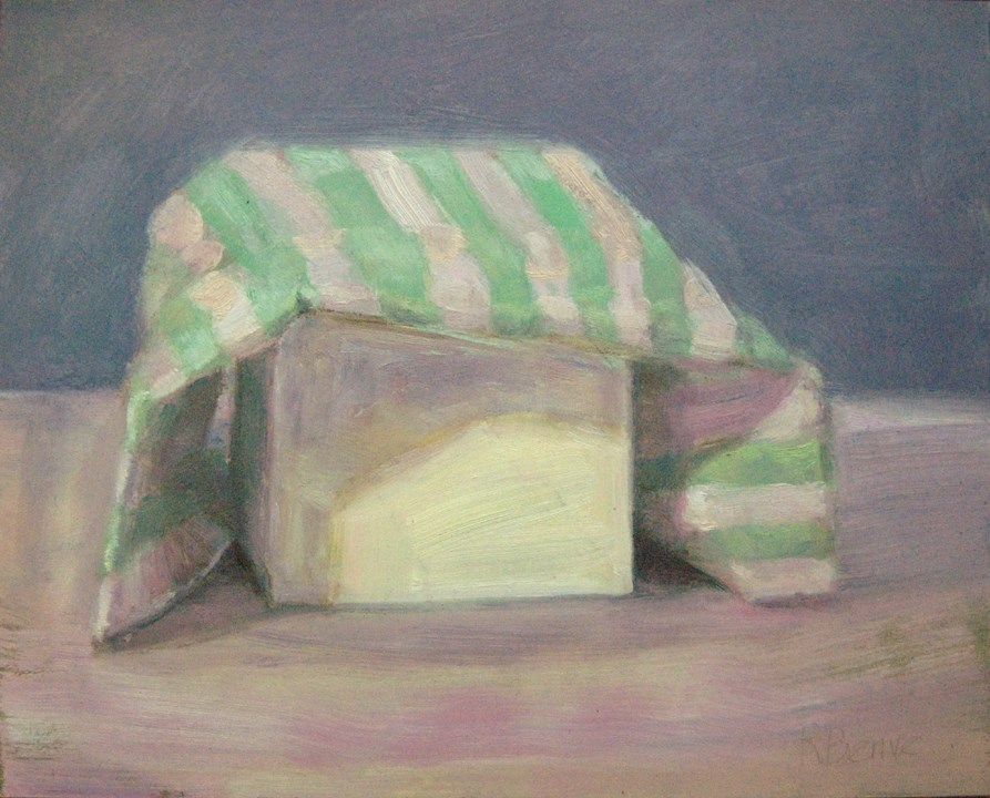 """Still Covered"" original fine art by Robie Benve"