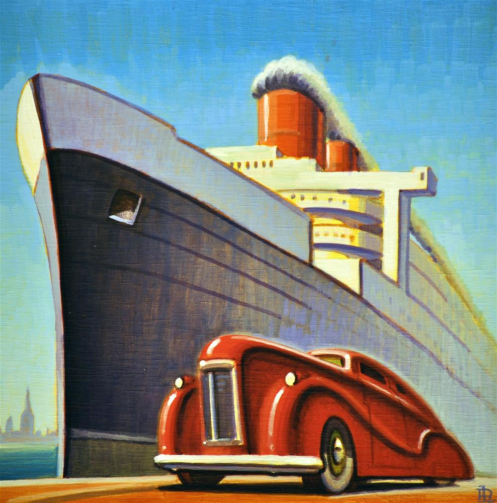 """Full Steam"" original fine art by Robert LaDuke"