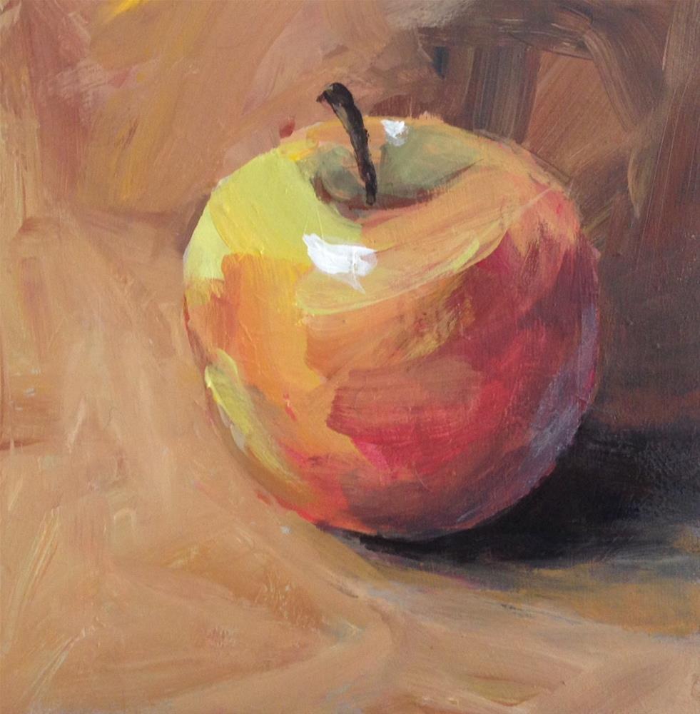 """""""Macintosh"""" original fine art by Shannon Bauer"""