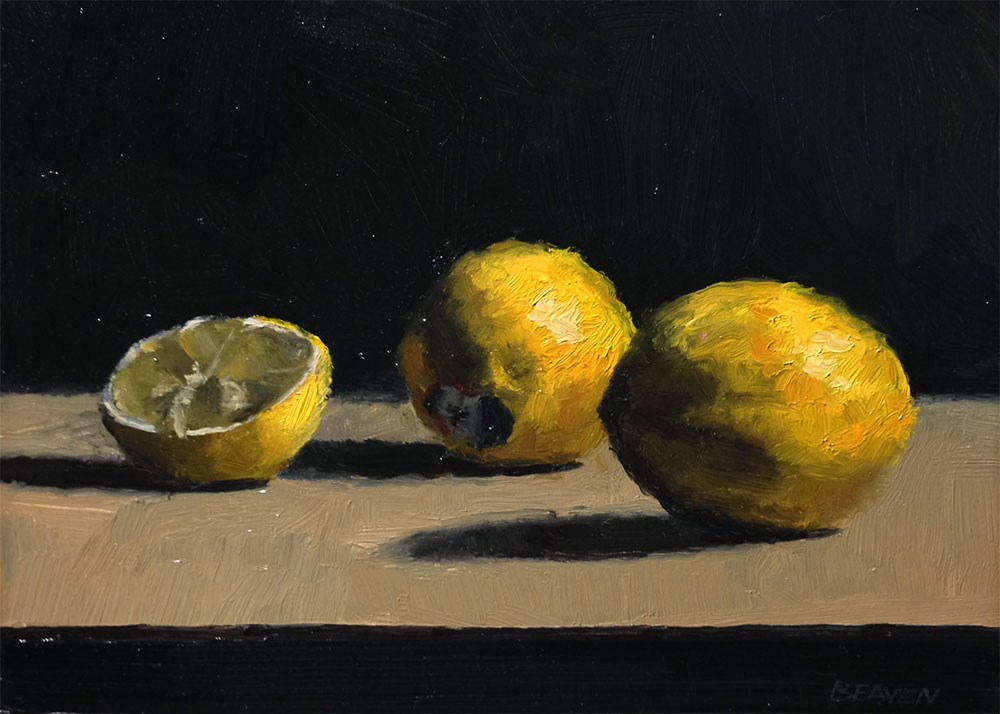 """Lemons"" original fine art by Chris Beaven"