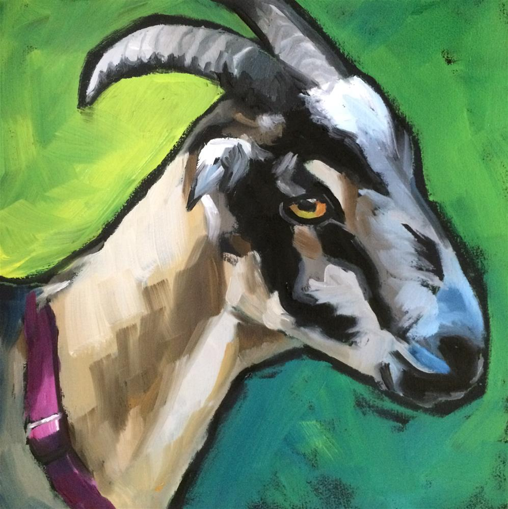 """Coco"" original fine art by Philla Barkhorn"