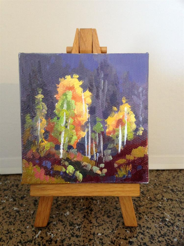 """""""Fall Colors 3"""" original fine art by Mary Jabens"""