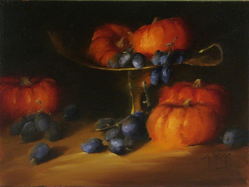 """A Quiet Evening"" original fine art by Lori Twiggs"