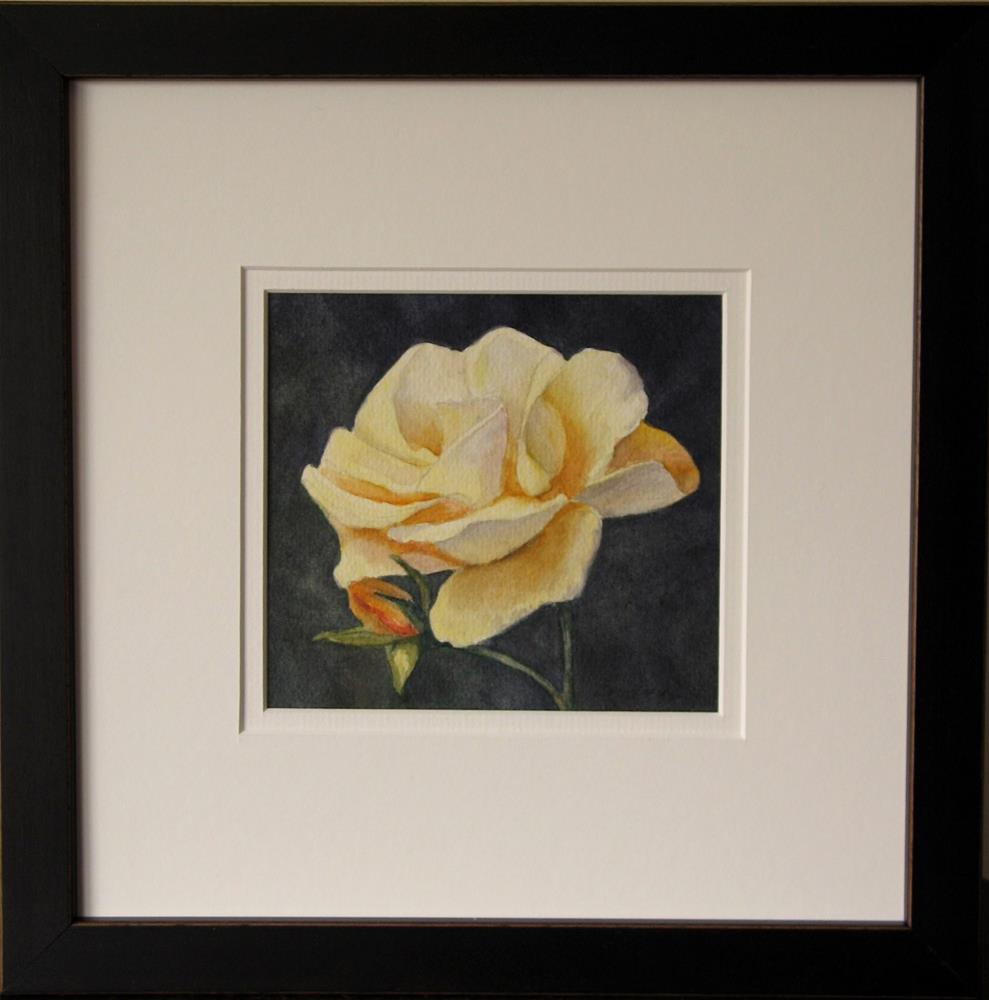 """Framed ~ Petals of Sunshine"" original fine art by Vikki Bouffard"