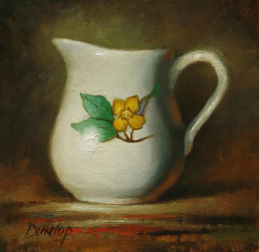 """Sunny Pitcher"" original fine art by Bobbi Dunlop"