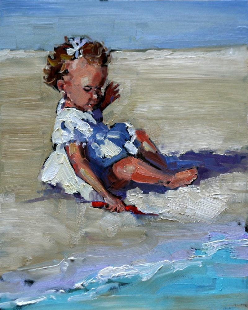 """cutie pie"" original fine art by Carol Carmichael"