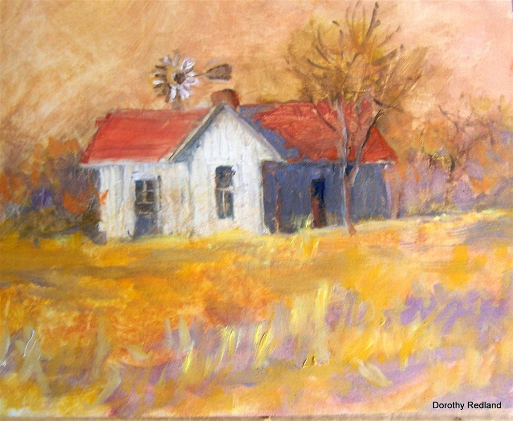 """The Old Arnim House"" original fine art by Dorothy Redland"