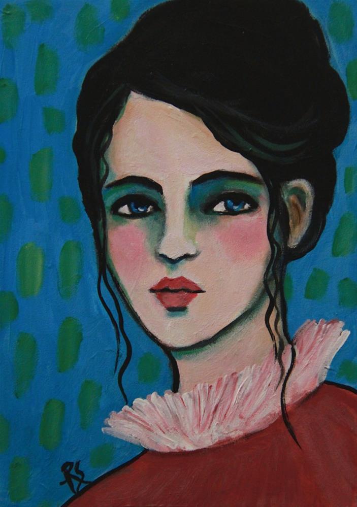 """Cornelia"" original fine art by Roberta Schmidt"