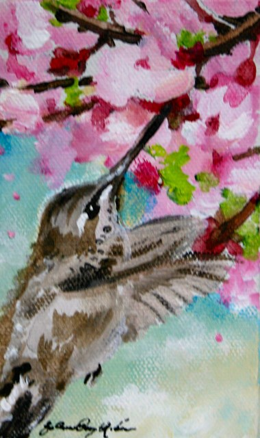 """""""In and Out"""" original fine art by JoAnne Perez Robinson"""