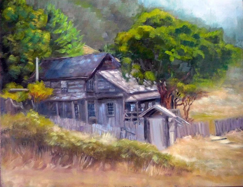 """Needle Rock House"" original fine art by Cietha Wilson"