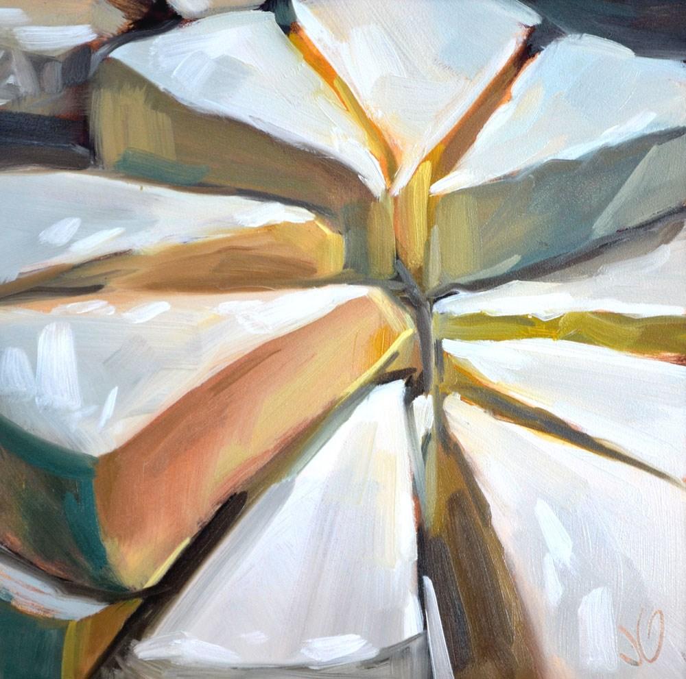 """Lil' Cheese"" original fine art by Jessica Green"