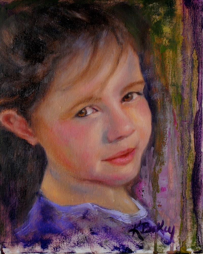 """Katie Joe"" original fine art by Kelly Berkey"