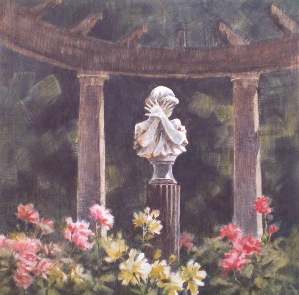 """Shy Girl II"" original fine art by Ginger Pena"