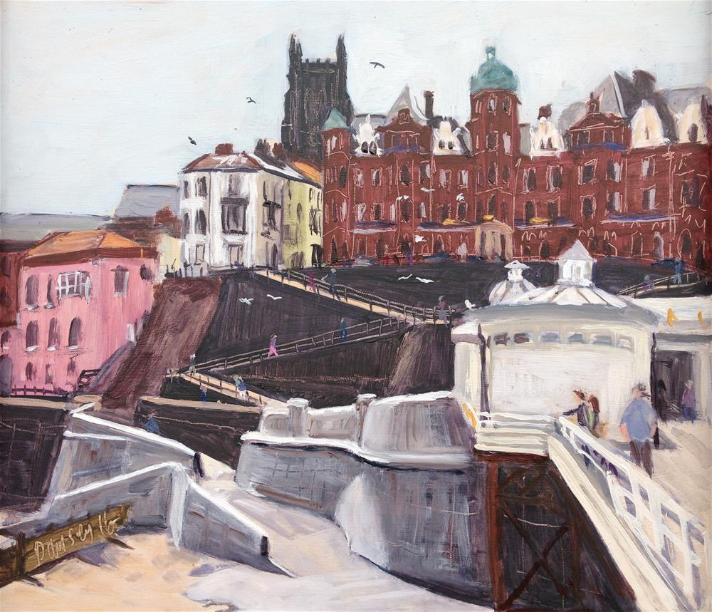 """From Cromer Pier #1"" original fine art by Tanya Pawsey"