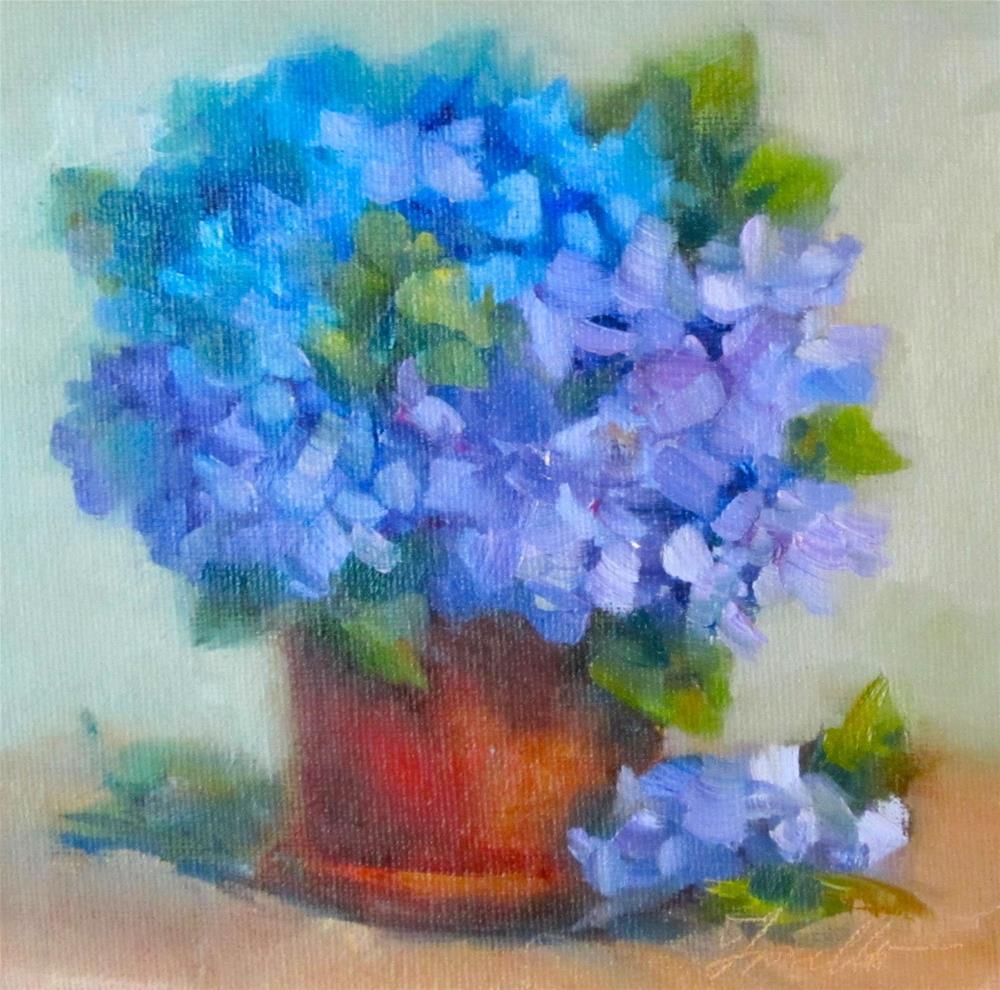 """""""Delight"""" original fine art by Pat Fiorello"""