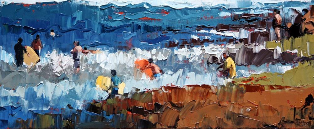 """""""At the backbeach"""" original fine art by Claire McCall"""