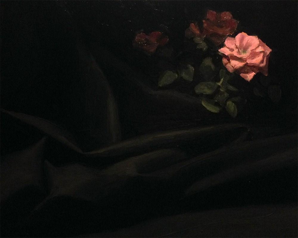 """Adrift Upon a Black Sea"" original fine art by Chris Beaven"