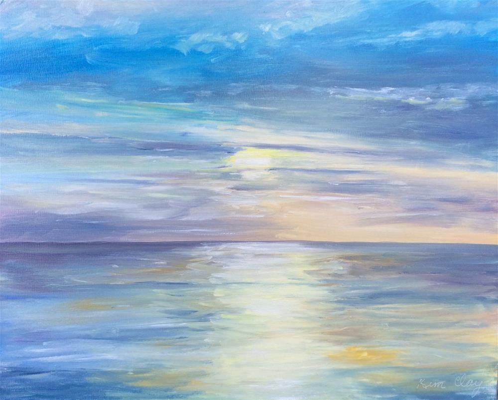 """Reflections"" original fine art by Kim Clay"