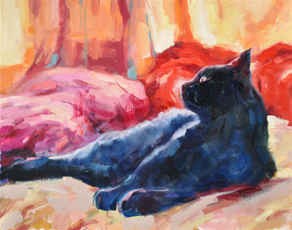 """Bagi"" original fine art by Emiliya Lane"