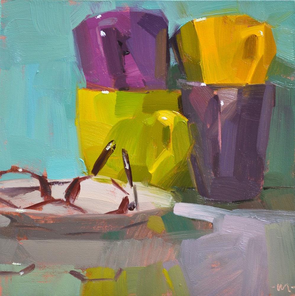 """Nearsighted"" original fine art by Carol Marine"