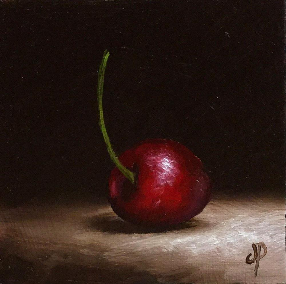 """Little Cherry #6"" original fine art by Jane Palmer"