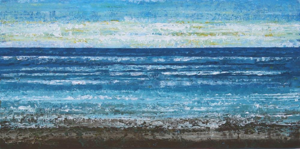 """Sand and Surf"" original fine art by Sage Mountain"